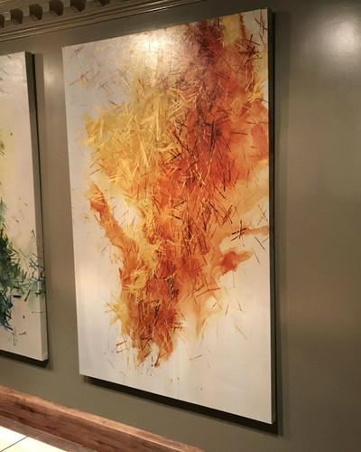 Intense Fragments III- Artwork