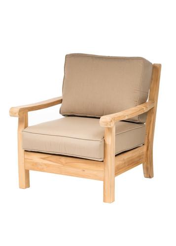 CO9 Design Jackson Club Chair with Spectrum Mushroom Cushions