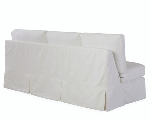 Slipcovered Rolled One Arm Sofa BACK (C71X-18LF)