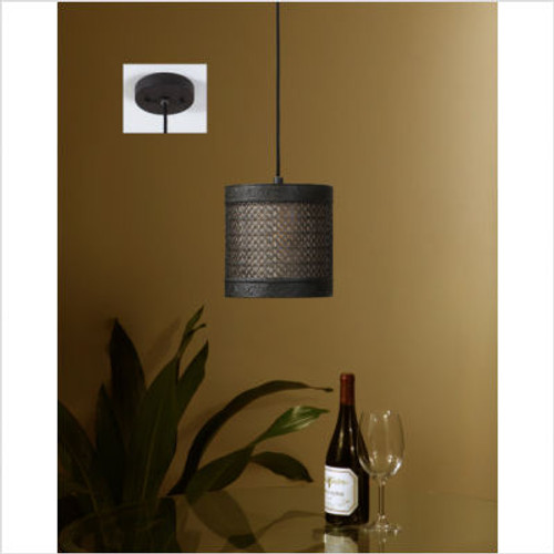 New Orleans One Light Mini Hanging Shade
