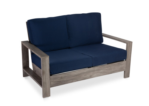 CO9 Design Soho Loveseat with Ink Cushions