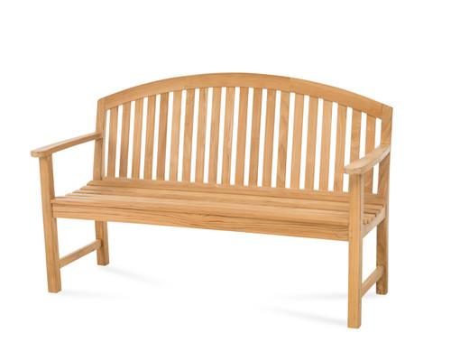 Dodger 5' Teak Bench