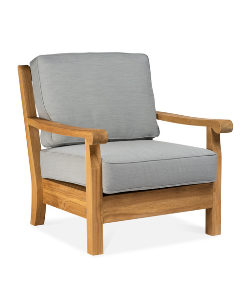 CO9 Design Jackson Club Chair with Fossil Cushions