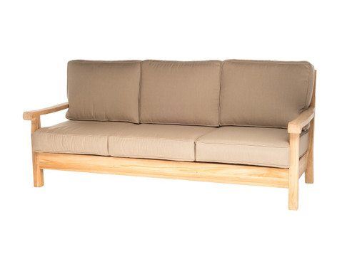 CO9 Design Jackson Sofa with Mushroom Cushions