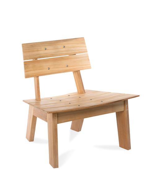 Luna Adirondack Chair, Natural