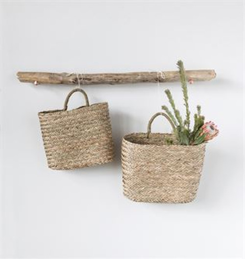 SEAGRASS WALL BASKET-LARGE