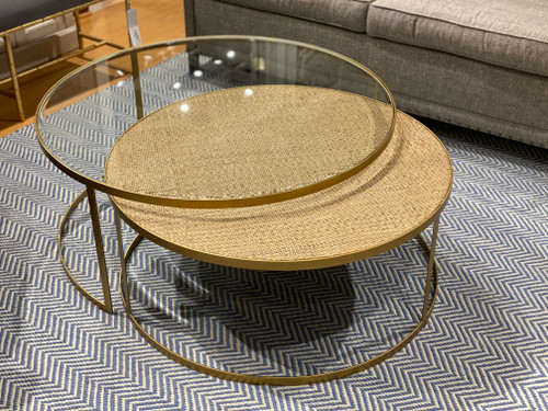 SOLD OUT.......Indoor Nesting Coffee  Table