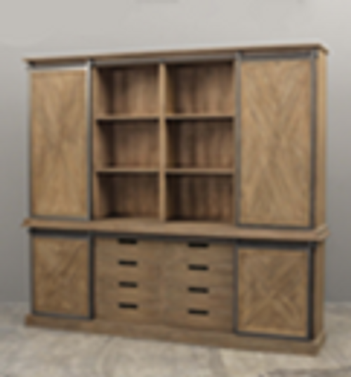 MOZAIC WOOD WALL CABINET