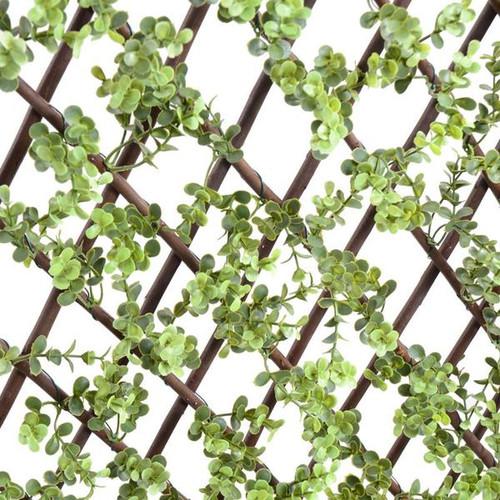 """Rose Leaf Lattice 39""""x78"""""""