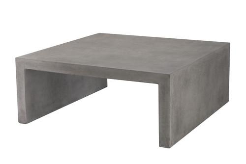 """CO9 Design Bridge 43"""" Square Coffee Table"""