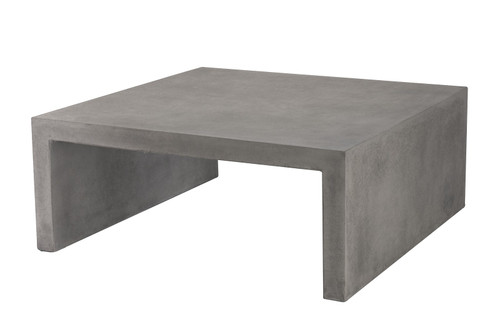 "CO9 Design Bridge 43"" Square Coffee Table"