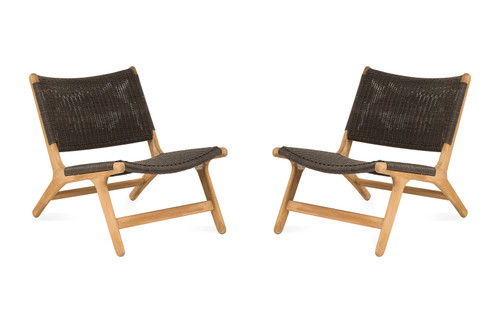 Arden Chair, Brown - Set of 2