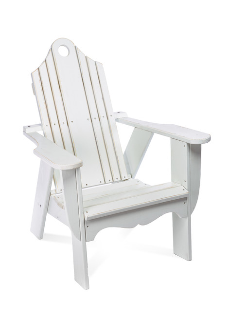 Brookside Adirondack Chair, White