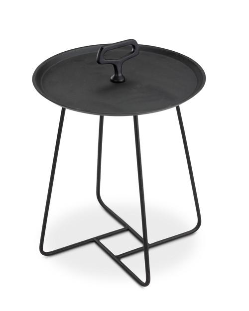 "Bayridge 15"" End Table - Black"