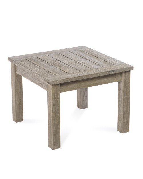 """Lakewood Essential 24"""" Side Table, Grey Finish"""