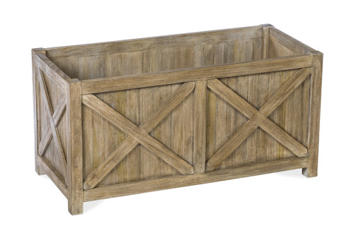 Lakewood Essential Large Planter Box, Grey Finish