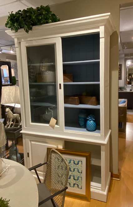 Hudson  Bookcase with 2 Sliding Doors
