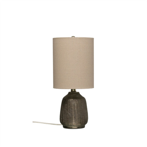 TERRA-COTTA TABLE LAMP
