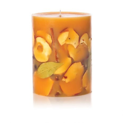 """SPICY APPLE - 6.5"""" Round Botanical Candle"""