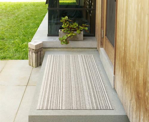 Skinny Stripe Shag BigMat 36x60 - BIRCH