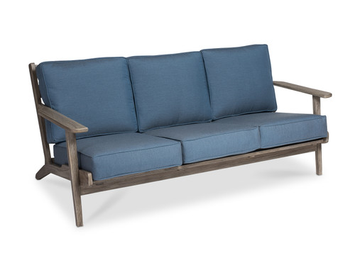 Dover Sofa with Denim Cushions