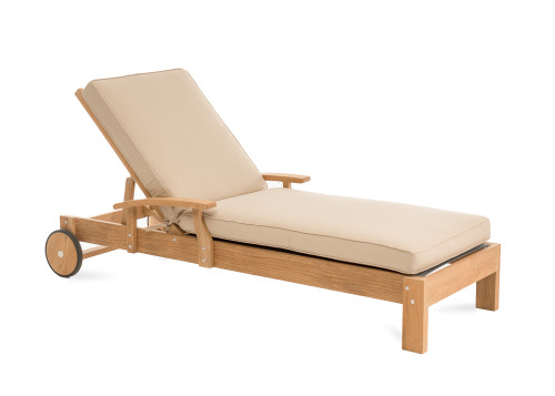 CO9 Design Newport Chaise Lounge with Spectrum Sand Cushion