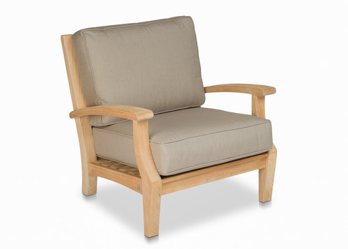 CO9 Design Newport Lounge Chair with Mushroom Cushions