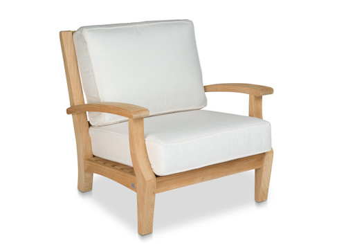 CO9 Design Newport Lounge Chair with Eggshell Cushions