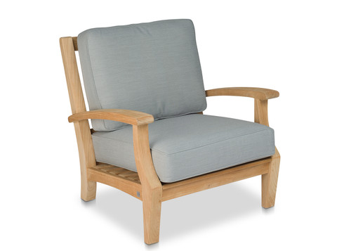 CO9 Design Newport Lounge Chair with Fossil Cushions