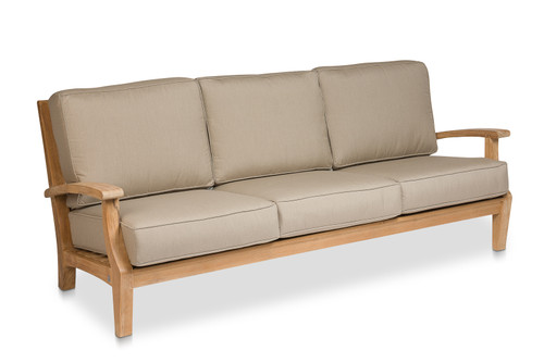 CO9 Design Newport Sofa with Mushroom Cushions