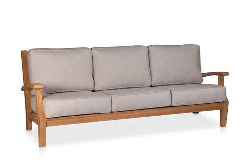 CO9 Design Newport Sofa with Silver Cushions