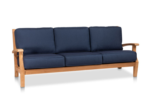 CO9 Design Newport Sofa with Indigo Cushions