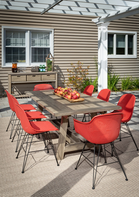 "Madi  118"" Extension 8 Seat Dining Set"