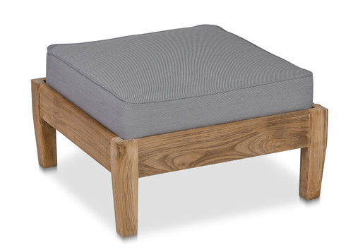 CO9 Design Newport Ottoman with Fossil Cushion