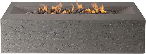 "Rectangular Fire Pit 48"" x 30"" x 14.6"" - Slate (LP)"