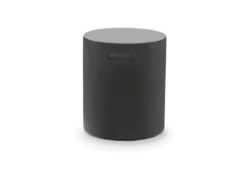 High Performance Concrete Hide Away End Table Black