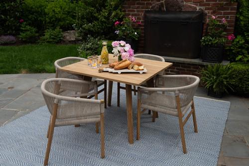 CO9 Design Ava 4 Seat Dining Set