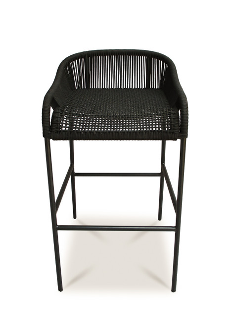 Belmont Bar Stool-Black