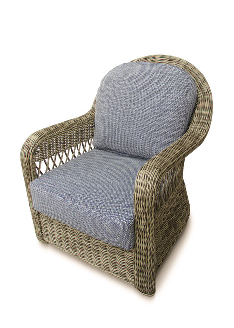 Julia Club Chair w/ Sky Cushion