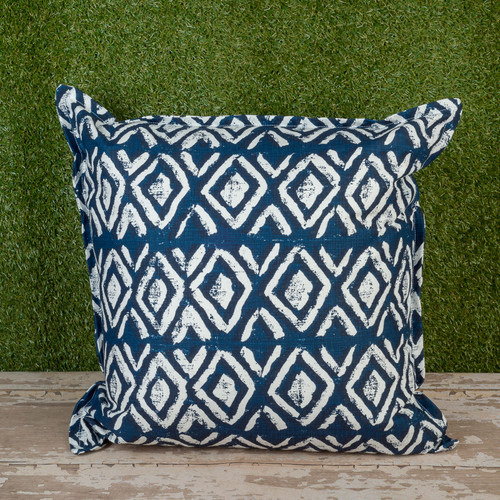 "Denim Sapo Toss Pillow 22"" Square"