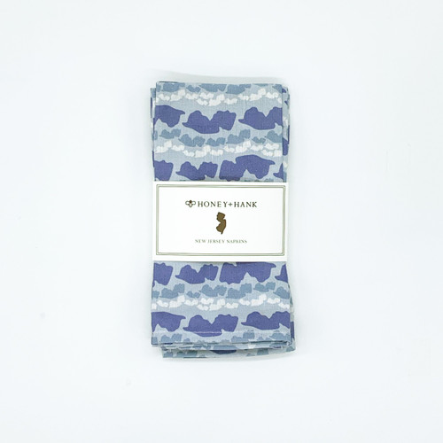 New Jersey Shores Napkins - Ocean
