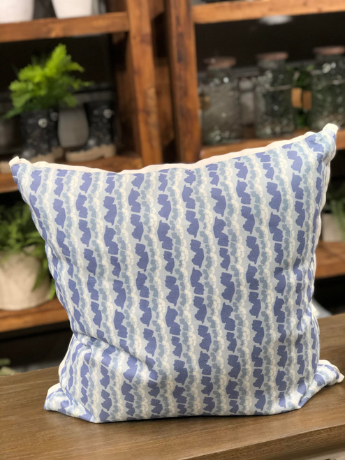 New Jersey Shores Square Pillow - Ocean