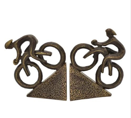 CYCLIST BOOKEND (2 PIECES)