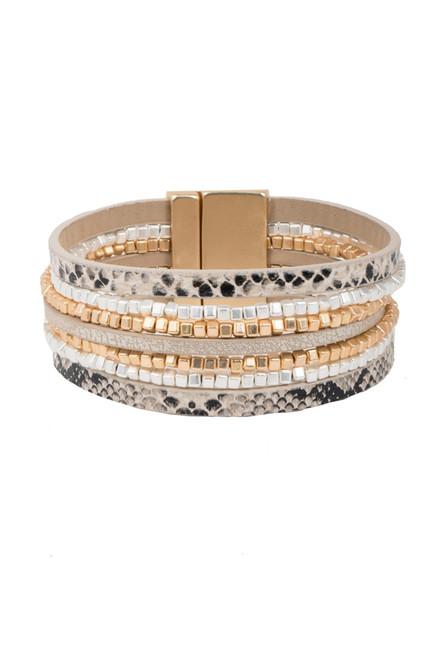 Exuma Beaded Bracelet - Natural