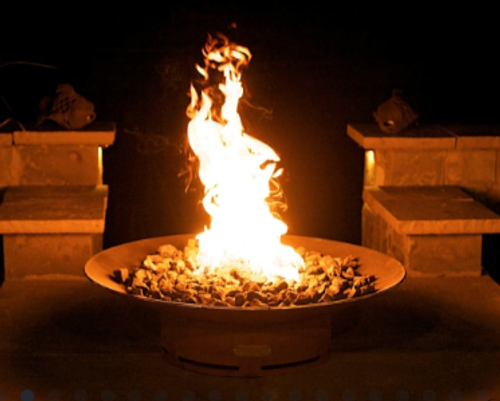"Asia 36"" Round Propane Fire pit"