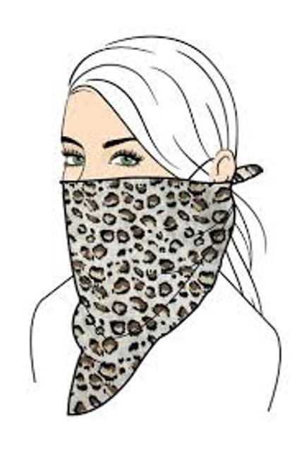 Floral Face Mask Set - Leopard