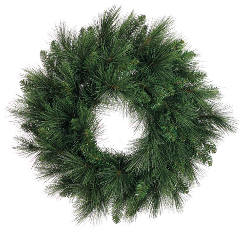 "24""LONG NEEDLE PINE WREATH"