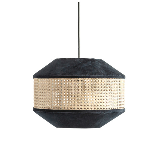 COTTON & VELVET PENDANT LAMP
