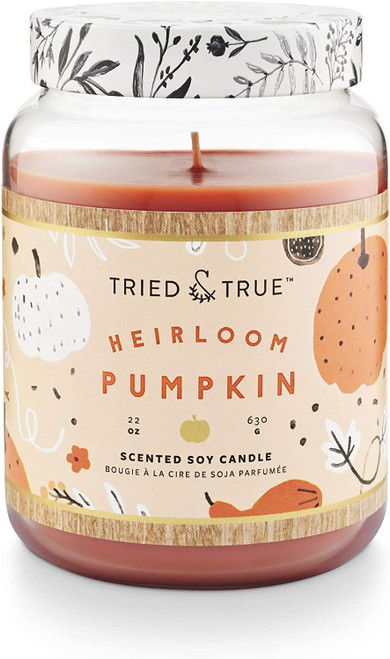 Tried & True Heirloom Pumpkin XLarge Jar Candle