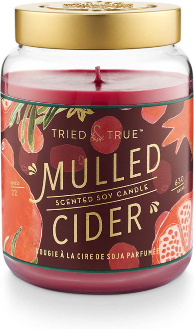 Tried & True Mulled Cider XLarge Jar Candle